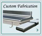 Shelves Custom Fabrications, Tables Custom Fabrications, Fireplace Mantels Custom Fabrications