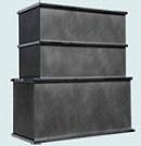 Cubic Zinc Custom Range Hood