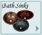 Copper Bath Sinks