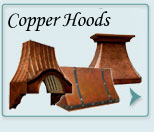 Custom Range Hoods Copper