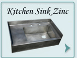Zinc Kitchen Sink  , Zinc Kitchen Sinks