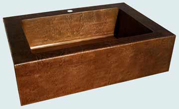 Custom Copper Farmhouse Sinks # 3387