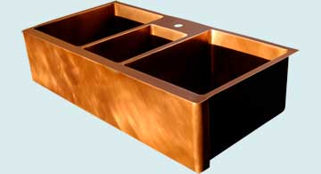 Copper Extra Large Sinks # 3392