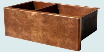 Custom Copper Farmhouse Sinks # 3550