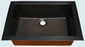 Custom Bronze and  Brass Bar Sinks # 4000