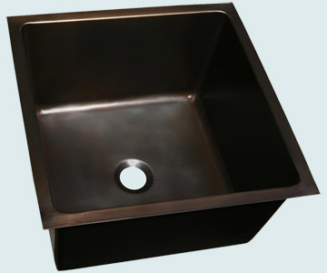 Custom Bronze and  Brass Bar Sinks # 4001