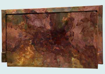 Copper Backsplashes # 4506