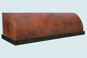 Copper Range Hood # 2747