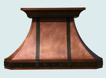 Copper Range Hoods # 2751