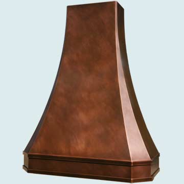 Copper Range Hood # 2767