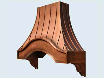 Copper Range Hood # 2800