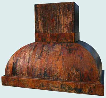 Copper Range Hood # 2971