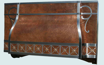 Copper Range Hood # 3054