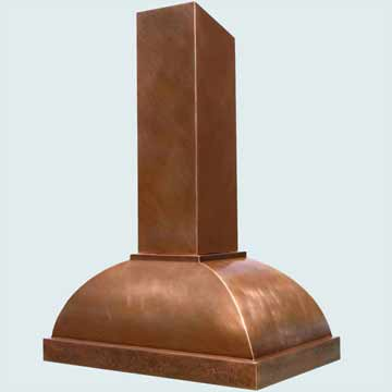 Copper Range Hood # 3103