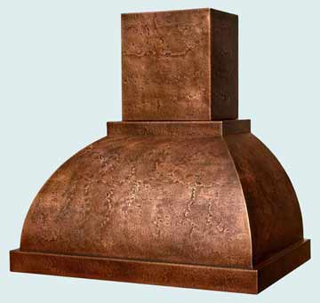 Copper Range Hood # 3106