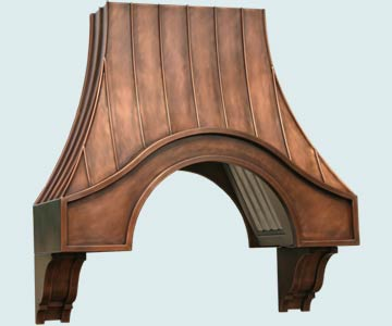 Copper Range Hood # 3110