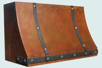 Copper Range Hood # 3204
