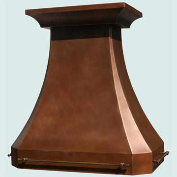 Copper Range Hood # 3230
