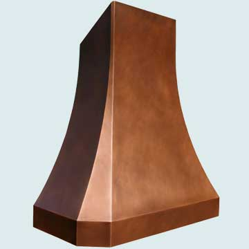Copper Range Hood # 3808