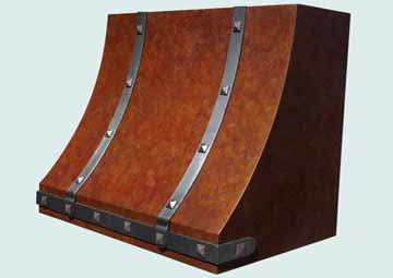 Copper Range Hood # 4026