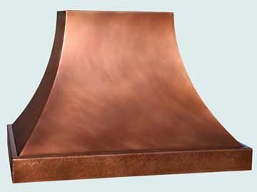 Copper Kitchen Range Hood # 4448