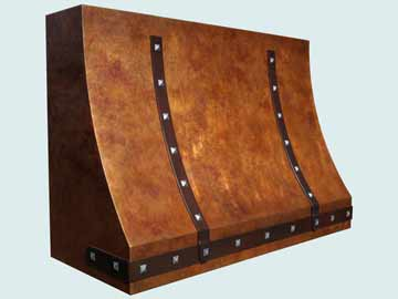 Copper Range Hood # 4205