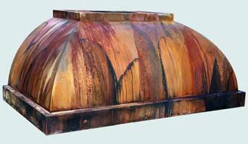 Copper Range Hood # 4279