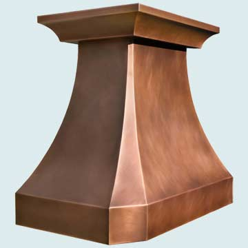 French  Country Range Hood # 4453