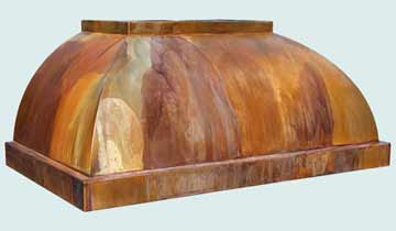 Copper Range Hood # 4299