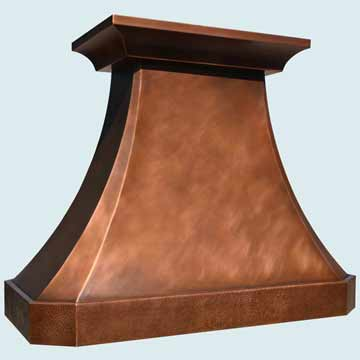 Copper Range Hood # 4319