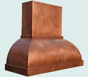 Copper Range Hood # 4344