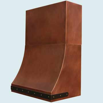 Copper Range Hoods # 4393