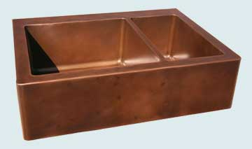 Custom Copper Farmhouse Sinks # 2821