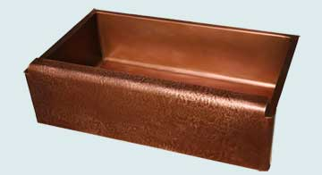 Custom Copper Farmhouse Sinks # 3014