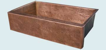 Custom Copper Farmhouse Sinks # 3375