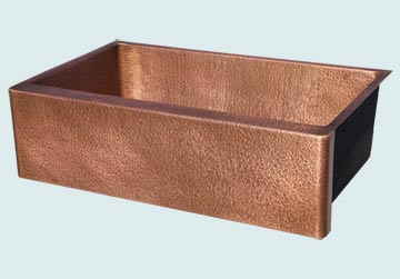 Custom Copper Farmhouse Sinks # 4847