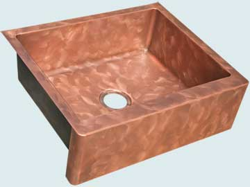 Custom Copper Farmhouse Sinks # 5056
