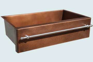 Custom Copper Farmhouse Sinks # 5064