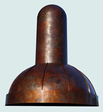 Copper Range Hood # 2599