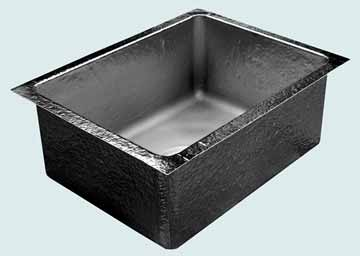 Custom Pewter Kitchen Sinks # 3693