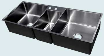 Stainless Steel Extra Large Sinks # 3701