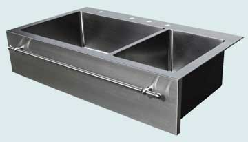 Stainless Steel Extra Large Sinks # 3732