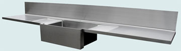Stainless Steel Countertop # 3350