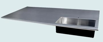 Stainless Steel Countertop # 3351