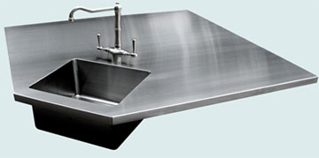 Stainless Steel Countertop # 3354