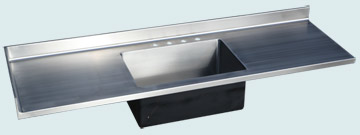Stainless Steel Countertop # 4784