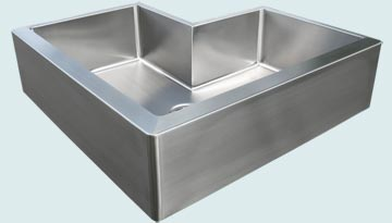 Stainless Steel Extra Large Sinks # 2954