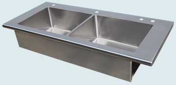 Stainless Steel Extra Large Sinks # 4046