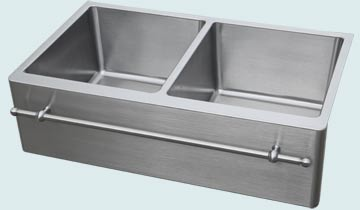 Stainless Steel Towel Bar sinks # 4880