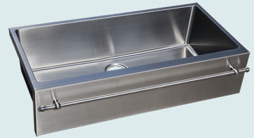 Stainless Steel Towel Bar sinks # 4973